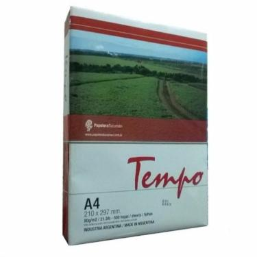 RESMA TEMPO A4 80GRS 210X297 BLANCO