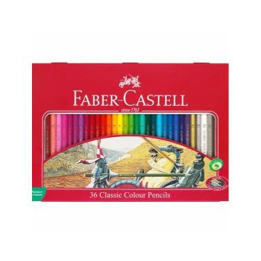 "LAPIZ FABER CASTELL LATA X 36 ""DISCONTINUADO"""