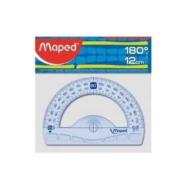 TRANSPORTADOR MAPED GRAPHIC 180º-10 CM