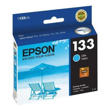 CARTUCHO EPSON T133 CYAN