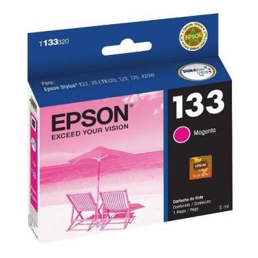 CARTUCHO EPSON T133 MAGENTA
