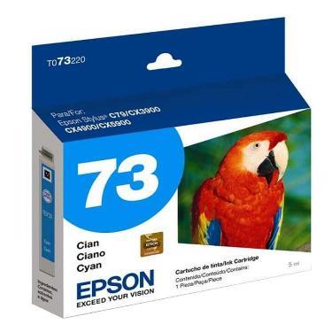 CARTUCHO EPSON T73 CYAN