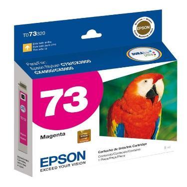 CARTUCHO EPSON T73 MAGENTA