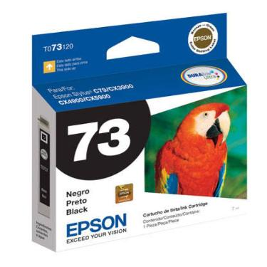 CARTUCHO EPSON T73 NEGRO