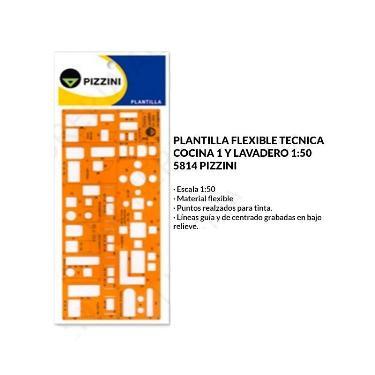 PLANTILLA PIZZINI COCINA Y LAVADERO 5814