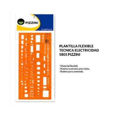 PLANTILLA PIZZINI ELECTRICIDAD 5805