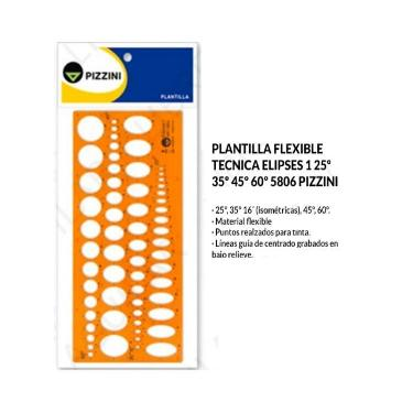 PLANTILLA PIZZINI ELIPCES 1 5806
