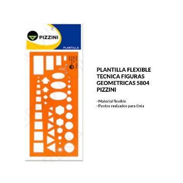 PLANTILLA PIZZINI FIGURAS GEOMETRICAS 5804