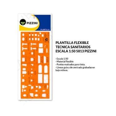 PLANTILLA PIZZINI SANITARIOS 5813