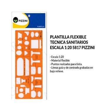 PLANTILLA PIZZINI SANITARIO 5817