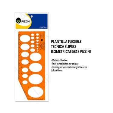 PLANTILLA PIZZINI ELIPCES 1 ISOMETRICAS 5818