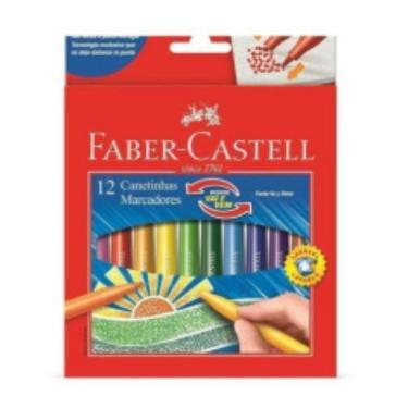 MARCADOR FABER CASTELL X 12 VAIEVEM