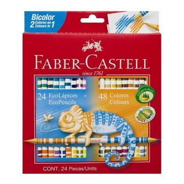 LAPIZ FABER CASTELL BICOLOR x 24