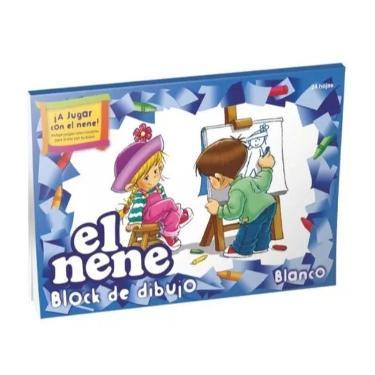 BLOCK EL NENE N°5 BLANCO 24 HOJAS