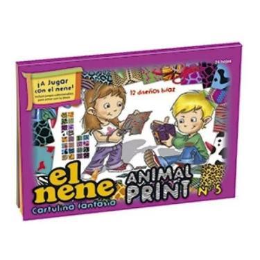 BLOCK EL NENE N°5 ANIMAL PRINT 24 HOJAS