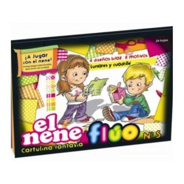 BLOCK EL NENE N°5 FLUO 24 HOJAS
