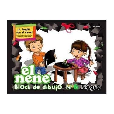 BLOCK EL NENE N°5 NEGRO 24 HOJAS