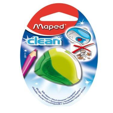 SACAPUNTA MAPED CLEAN 1 BOCA CON DEPOSITO EN BLISTER