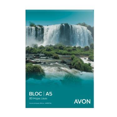 BLOCK AVON A5 80 HOJAS LISO