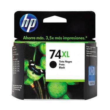 CARTUCHO HP 74XL NEGRO