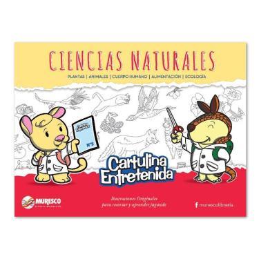 CARTULINA MURESCO ENTRETENIDA CIENCIAS NATURALES BLOCK 20 HOJAS