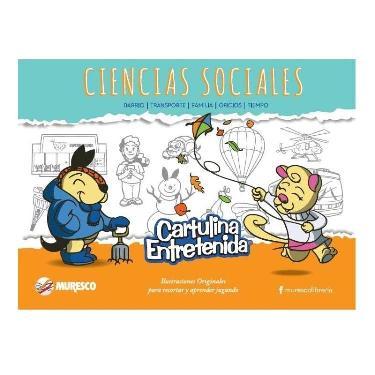 CARTULINA MURESCO ENTRETENIDA CIENCIAS SOCIALES BLOCK 20 HOJAS