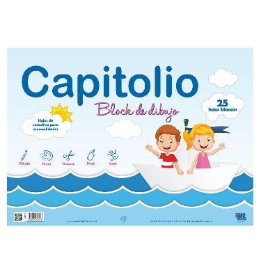 BLOCK CAPITOLIO A3 BLANCO 25 HOJAS