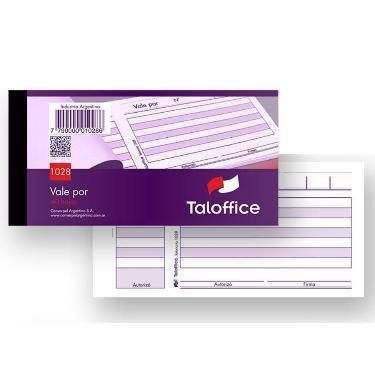 TALONARIO TALOFFICE VALE CHICO 258-1028