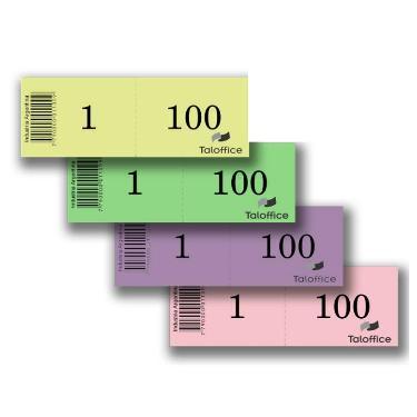 TALONARIO 1- 100