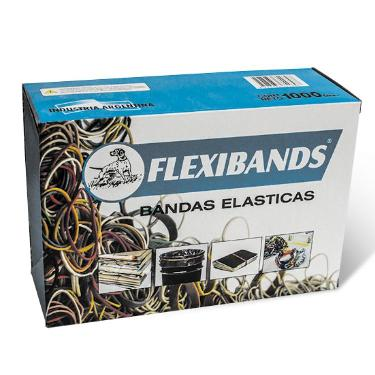 BANDAS ELASTICAS FLEXIBANDS X 1000 GRS. SOAFRA
