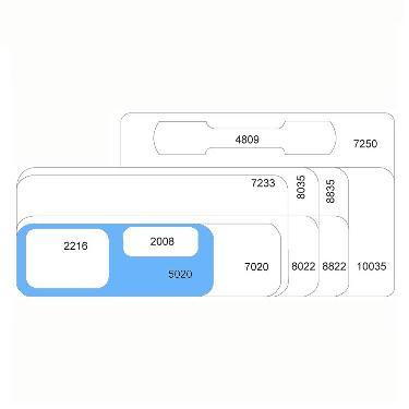 ETIQUETA ORI-TEC 5020 3025