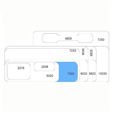 ETIQUETA ORI-TEC 7020 3026