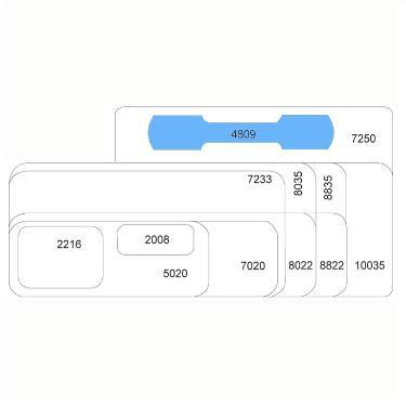 ETIQUETA ORI-TEC 780 4809 A6
