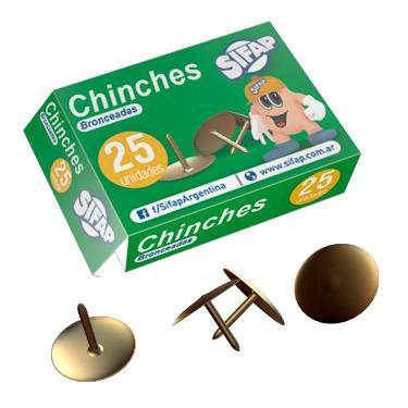 CHINCHES CJ 1 PUNTA X 25