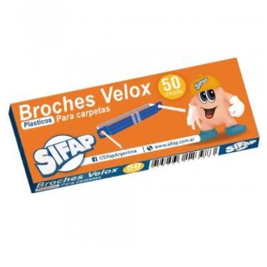 BROCHE NEPACO PLASTICO X 50 SIFAP