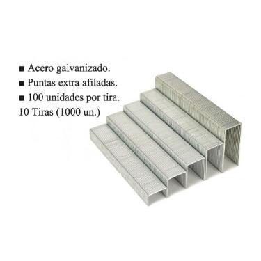 BROCHE DASA PARA ABROCHADORA Nº 23-15 X 1000