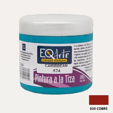PINTURA A LA TIZA EQARTE 030 COBRE 200 CC ART.3800-030-200