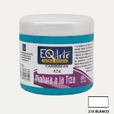 PINTURA A LA TIZA EQARTE 210 BLANCO 200 CC
