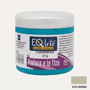 PINTURA A LA TIZA EQARTE 215 HUESO 200 CC