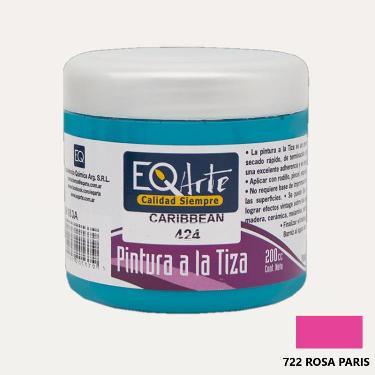 PINTURA A LA TIZA EQARTE 722 ROSA PARIS 200 CC