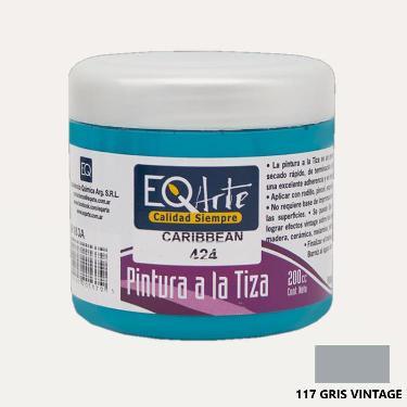 PINTURA A LA TIZA EQARTE 721 ROSA VINTAGE 200 CC