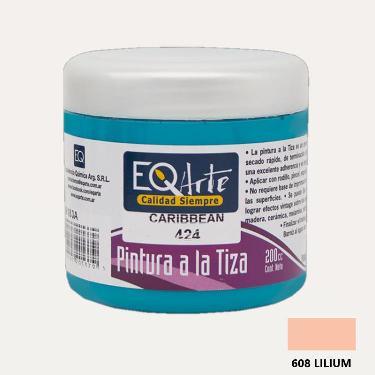 PINTURA A LA TIZA EQARTE 608 LILIUM 200 CC