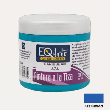 PINTURA A LA TIZA EQARTE 422 INDIGO 200 CC