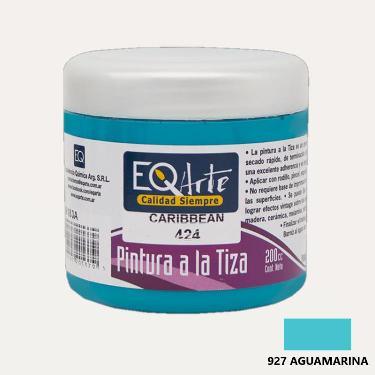 PINTURA A LA TIZA EQARTE 927 AGUAMARINA 200 CC