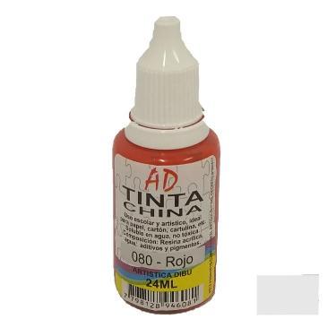 TINTA CHINA AD PLATA 20ML