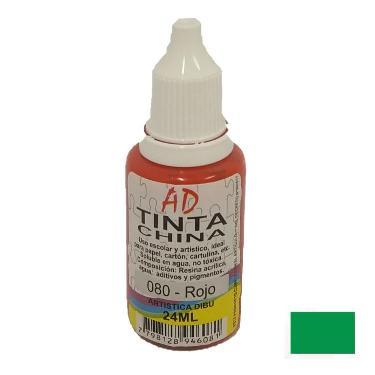 TINTA CHINA AD VERDE 20 ML