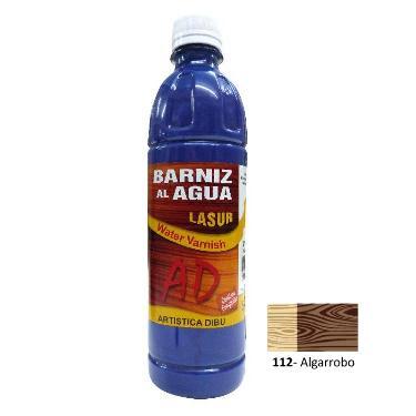 BARNIZ AL AGUA AD LASUR ALGARROBO 500 ML