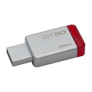 PENDRIVE KINGSTON 32GB DT50 ROJO