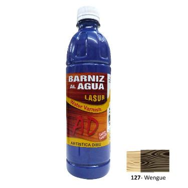 BARNIZ AL AGUA AD LASUR WENGUE 500ML