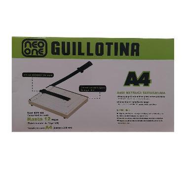 MAQUINA CIZALLA NEO ONE GUILLOTINA A4